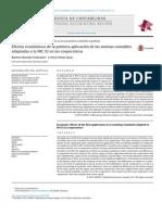 Efectos económicos de la primera aplicación de las normas contables adaptadas a la NIC 32 en las cooperativas