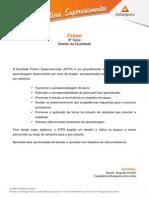 ATPS - 2015 2 Administracao 8 Gestao Qualidade