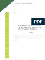 Cuadernillo de Expresión Escrita (3º Ciclo de EPO)