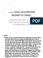 THE ILEGAL OCCUPATION REGIME OF ISRAEL.pdf