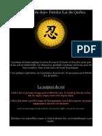 etiquette du dojo-butokukai quebec