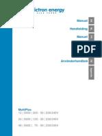 Manual Multiplus 5k 230v en Nl Fr de Es Se