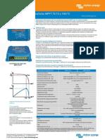 Datasheet Blue Solar Charge Controller MPPT 75 15 & MPPT 100 15 ES