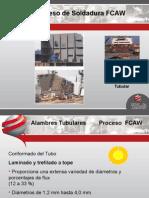 Proceso FCAW-CENTRAL DE SOLDADURA DE PROTECCIÓN INDUSTRIAL S.A..ppt