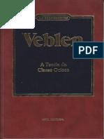 A Teoria Da Classe Ociosa - Veblen