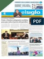 Edición Impresa El Siglo 04-09-2015