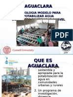Agua Clara Gilberto Arturo Díaz Honduras