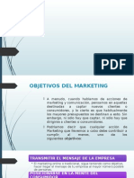 OBJETIVOS DEL MARKETING
