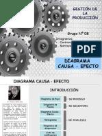 Exposicion de Diagrama Causa - Efecto