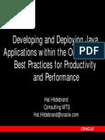 Java  Oracle 8i JVM