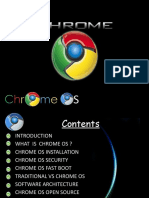 Introduction What is Chrome Os ? Chrome