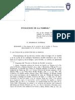 Evolucion de La Familia - Enrique Diaz de Guijarro