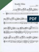 Miyavi - Itoshii Hito - Sheet Music