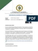 Syllabus Gestión de La Cadena de Suministro(1)