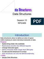 Session 10 Data Structures