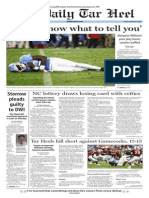 The Daily Tar Heel for Sept. 4, 2015