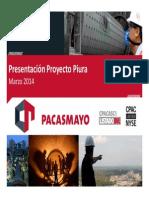 Pomarino, proyecto Piura, PERU