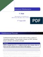Combinatorics Lecture 2