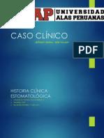 CASO CLÍNICO MEDICINA ESTOMATOLOGICA III