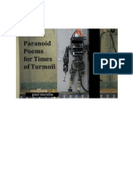 Paranoid Poems for Times of Turmoil, by Paul Murufas