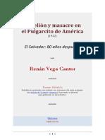 Rebelion y Masacre en El Pulgarcito de America