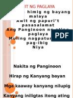 Awit Ng Paglaya Mass Nov 5,2011
