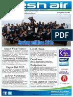 111 - Fresh Air Newsletter Spring 2015