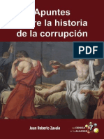 Apuntes Sobre La Historia de La Corrupcion