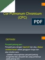 Penyakit jantung Paru (Cor Pulmonum Chronicum)