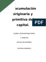Ensayo La acumulación originaria y primitiva del capital.docx