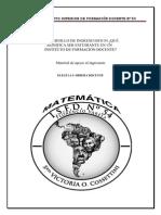 Cuadernillo de Ingreso Para Matemática 2013