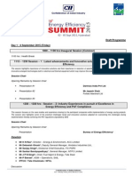 Draft Programme_Energy Efficiency Summit 2015