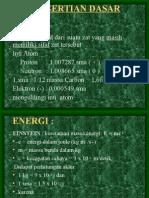 01 Dasar Fisika Radiasi