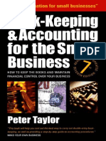 Peter Taylor - Book-Keeping & Accounting for Small Business, 7th Edition