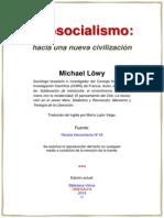 Ecosocialismo Hacia Una Nueva Civilizacion