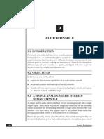 10 Lesson-09 Audio Console