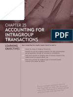 Accounting for Intra Group Transactions