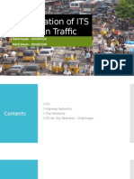 Optimization of ITS for Urban Traffic