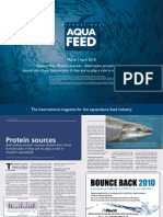 Protein sources - Alternative protein sources should also show functionality if they are to play a role in modern aquafeeds