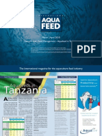 Feed Management - Aquafeed in Tanzania