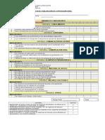 Pautas de evalucion oral