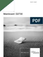 FTS MainboardD2730ShortDescriptionENDE 10 1081195