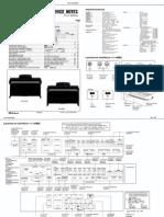 roland Kr 4700 Service Notes