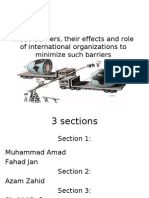 trade barriers and their effects