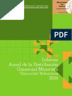Informe Distribución Comercial Comunidad Valenciana 2014