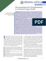 Application of Microautologous Fat Transplantation.4