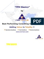 Total Productive Maintenance (TPM) Basics - ADDVALUE - Nilesh Arora