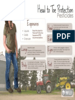 Head to Toe Pesticides - Woman