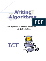 Writing Algorithms