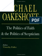 The Politics Faith and the Politics of Scepticism
